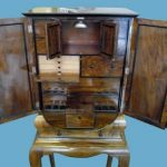 DUNHILL SMOKERS CABINET SELLS AT AUCTION