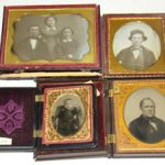 PRESIDENT JAMES A. GARFIELD AMBROTYPE AND DAGUERREOTYPE IMAGES AUCTIONED AT PHILIP WEISS