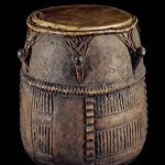 The British Museum Shows Akan Drum