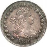 1796 15 Stars Half Dollar brings $207,000 at Heritage Auction
