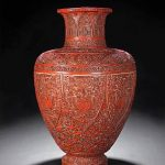 Qianlong Lacquer Vase Highlights Bonhams & Butterfields Auction In San Francisco