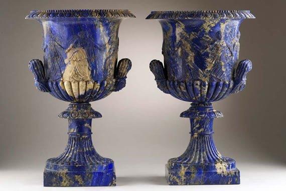 Lapis Lazuli Vases