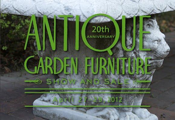 New York Botanical Garden Antique Garden Furniture Show and Sale April 27–29