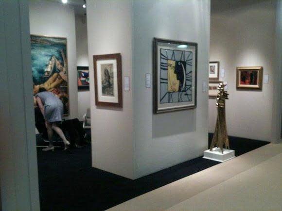 exhibition of 20th century art at WHITFORD FINE ART susan@susanpr.com