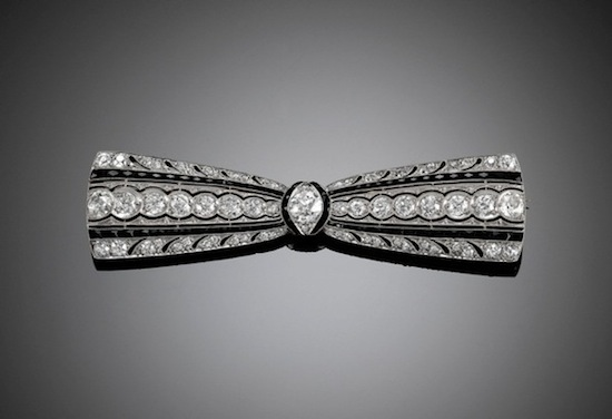 Greenleaf & Crosby diamond brooch, circa 1925 (MS Rau)