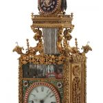 ANTIQUE CHINESE ANIMATED TRIPLE FUSEE BRACKET CLOCK MAKES $1.27 MILLION AT FONTAINE'S ANTIQUE & CLOCK  SALE