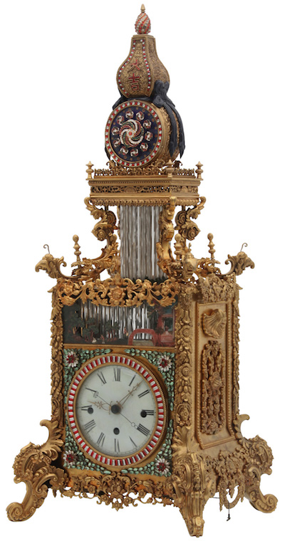 Chinese-triple-fusee-bracket-clock