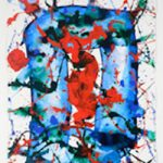 Michaan's To Auction Original Sam Francis and Other Art Furniture Currency and Jewels