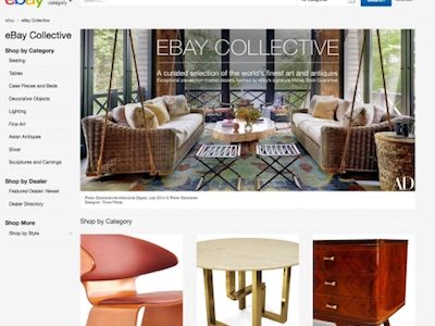eBay Collective Launched for Furniture, Antiques, Contemporary Design and Fine Art Buyers