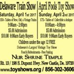 Delaware Train Show & April Fools Toy Show 2017