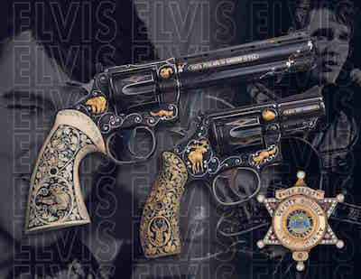 Elvis-Presley-revolvers-gem-studded-badge