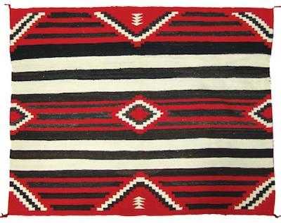 Navajo-rug-weaving