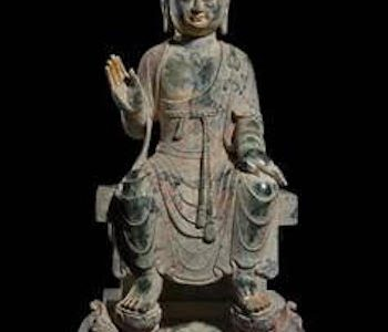 THE GOLDEN AGE OF CHINESE BUDDHIST SCULPTURE Sui to Tang Dynasties 6th to 9th Centuries at Throckmorton Fine Art