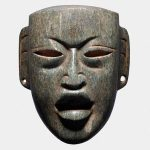 Small Masks from Pre-Columbian Mesoamerica at Throckmorton in New York