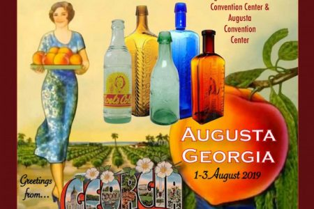 THE FEDERATION OF HISTORICAL BOTTLE COLLECTORS (FOHBC) WILL HOLD ITS ANNUAL CONVENTION ON AUGUST 1-3 IN AUGUSTA, GA.