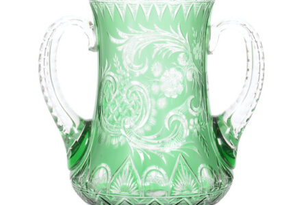 AMERICAN BRILLIANT CUT GLASS FOR WOODY AUCTION SALE